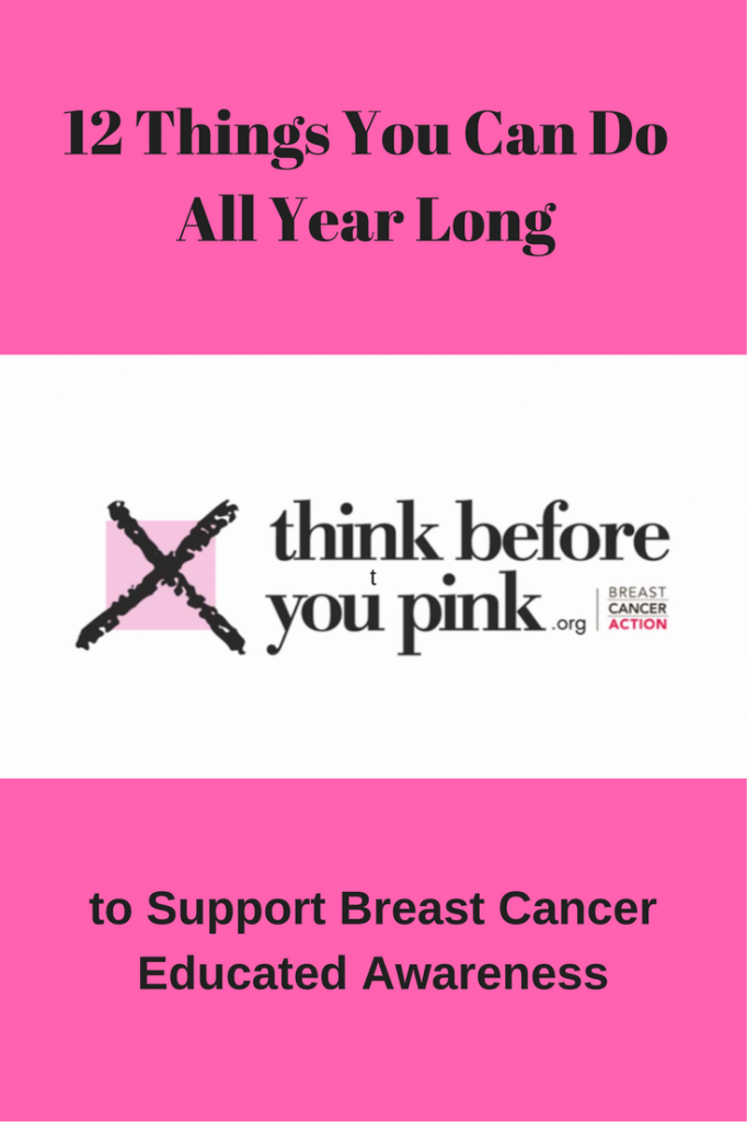 12 Things You Can Do All Year Long to Support Breast Cancer Educated Awareness