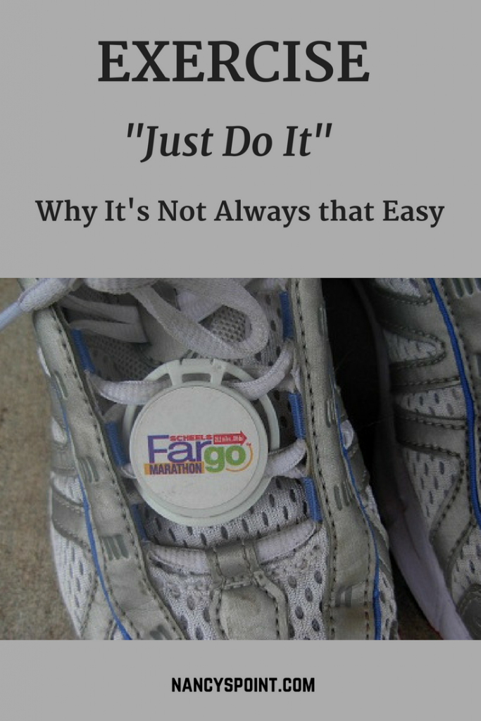 "Exercise, ""just do it"" - why it's not always that easy"