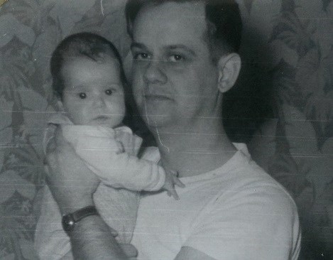 My handsome dad and me