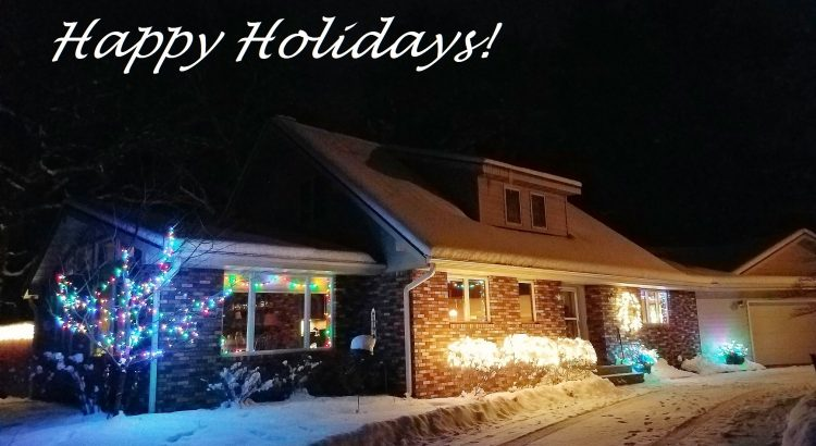 Happy holidays from my house to yours!