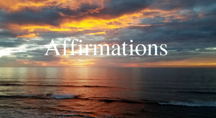 My 5 Affirmations for the New Year