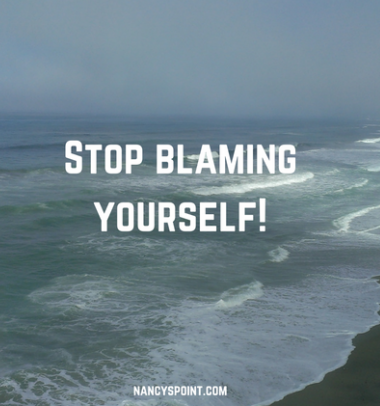 Stop blaming yourself for getting cancer!
