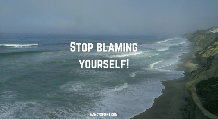 Stop blaming yourself for getting cancer