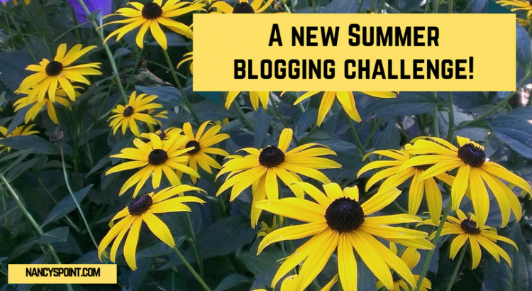 A new summer blogging challenge!