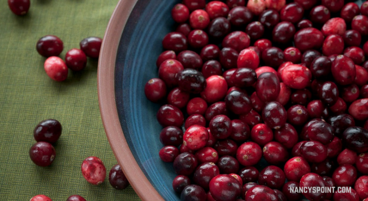 More than just a bowl of cranberries & Happy Thanksgiving!