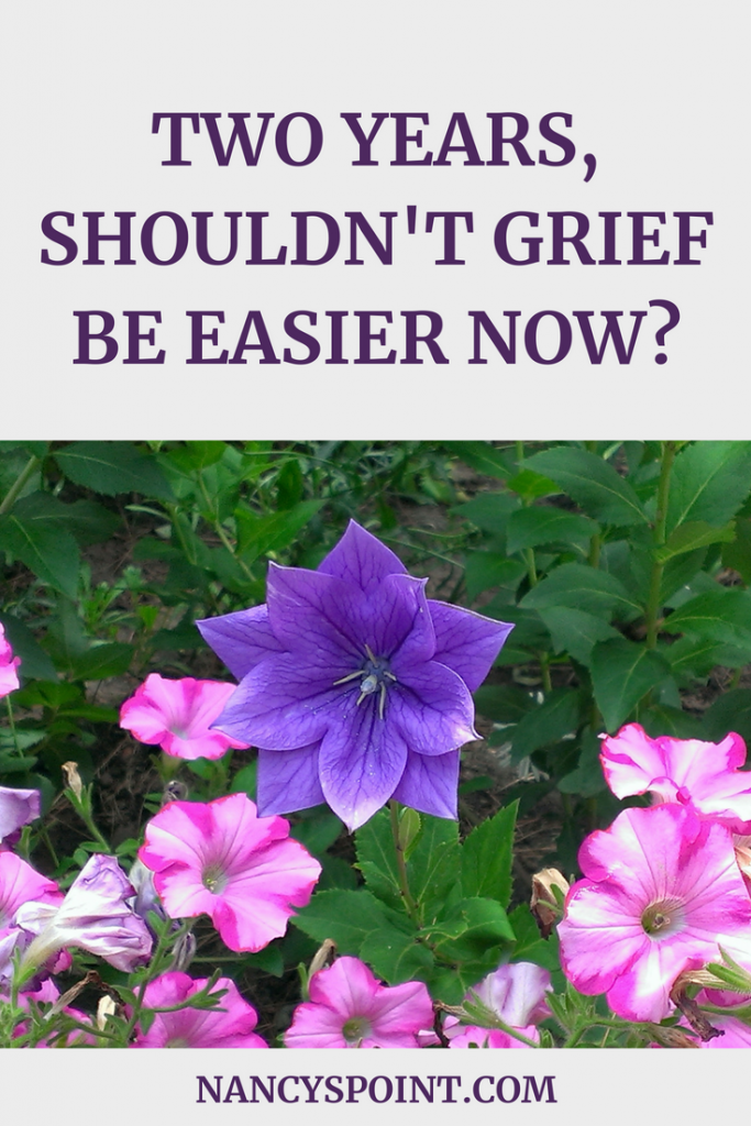 Two Years, Shouldn't Grief Be Easier Now?