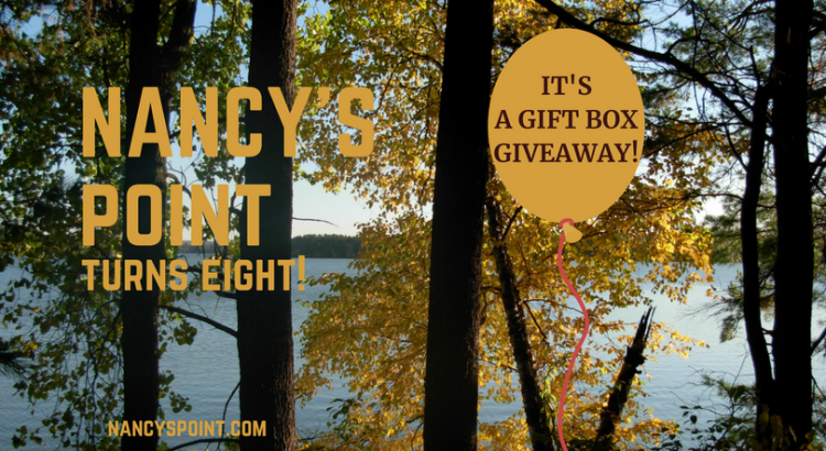 Nancy's Point Turns Eight & A Gift Box Giveaway!