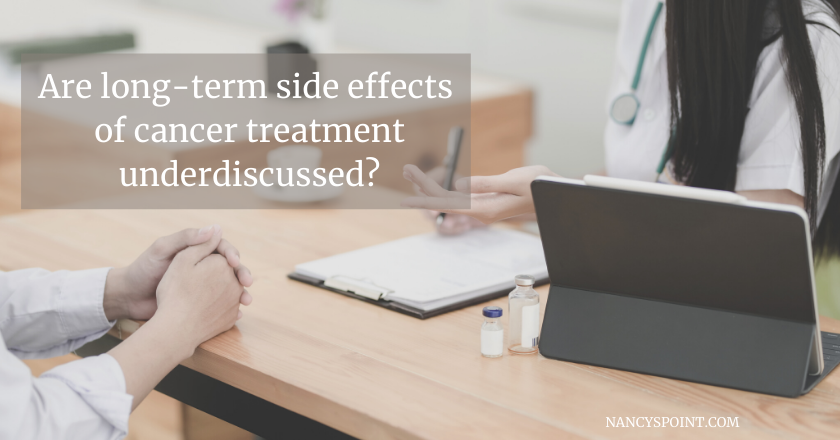 How much do you want to know about treatment risk? #cancer #breastcancer #surgery #sideeffects #chemo #radiation