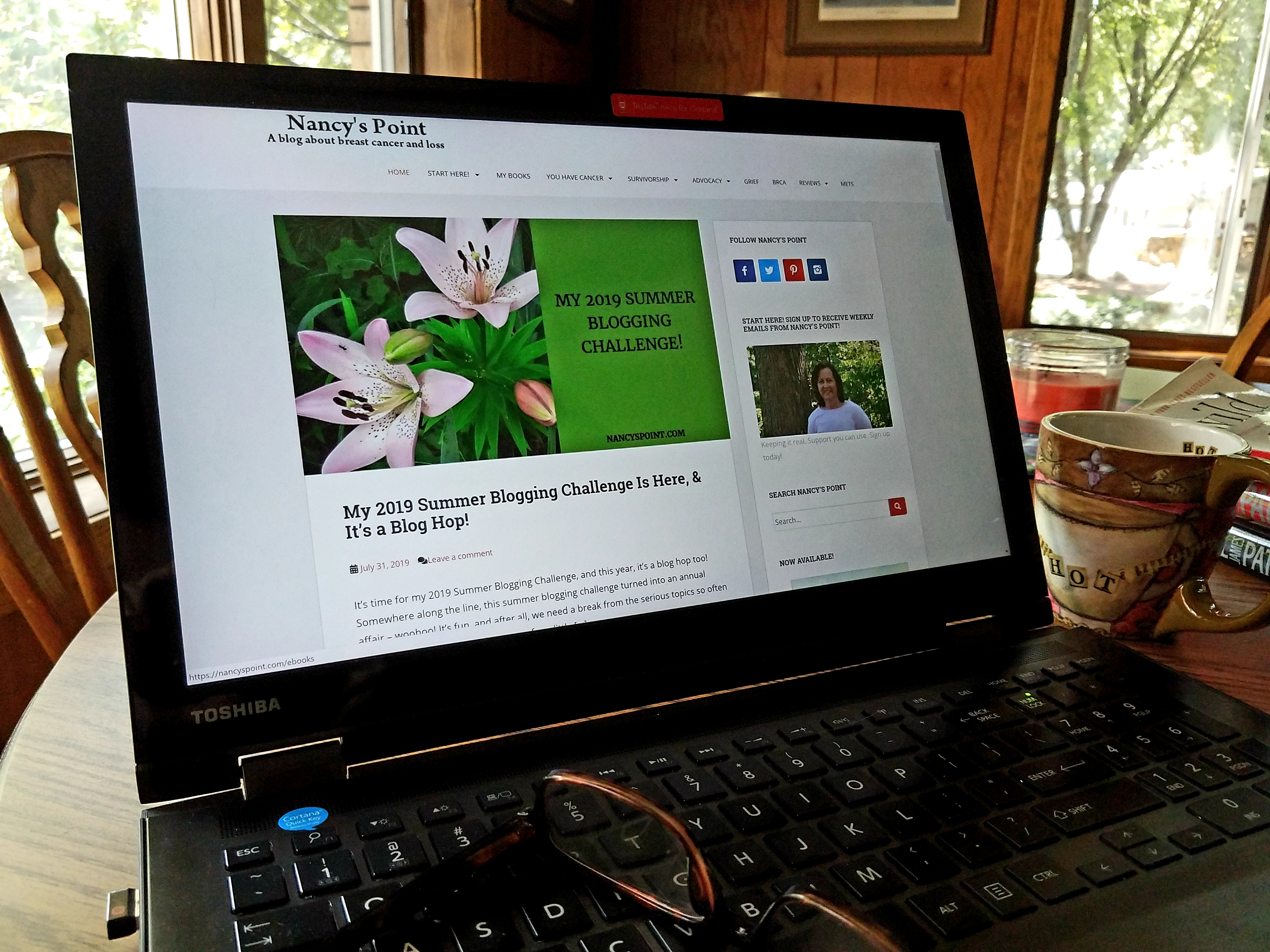 My 2019 #Summer #Blogging Challenge & It's a #BlogHop! #blogger #blogs #writing