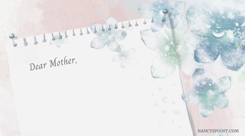 I understand (A note to my #mother for #MothersDay #family #daughters #mothers #holidays #family #grief #love #loss #relationships