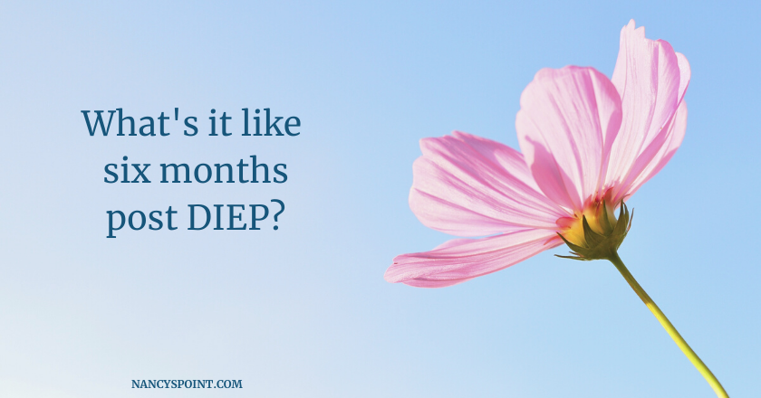 What's it like six months post #DIEPflap surgery? #breastcancer #breastreconstruction #mastectomy #DIEP #womenshealth