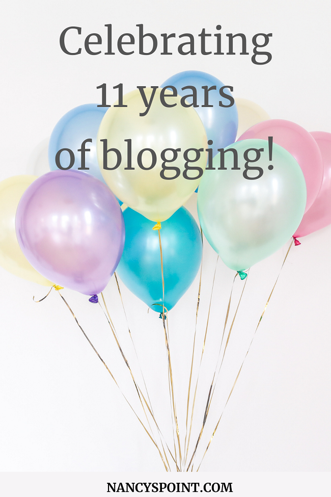 Celebrating 11 years of #blogging & my biggest #book sale too! #books #bloggerstribe #writinglife #breastcancer #memoir $grief #chemotherapy #womenshealth